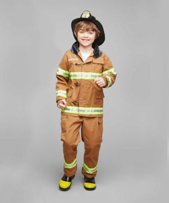 personalized firefighter childrens costume
