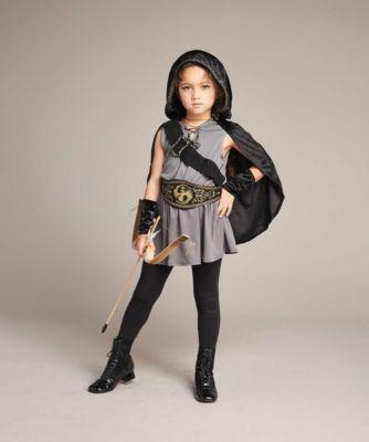 hooded huntress girls costume