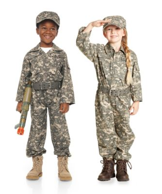 desert army soldier childrens costume