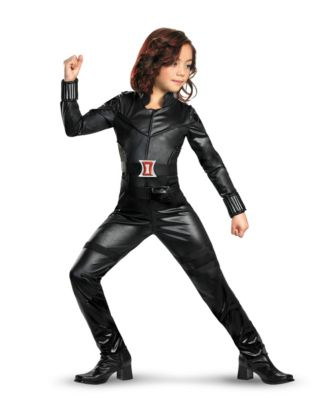 black widow girls costume
