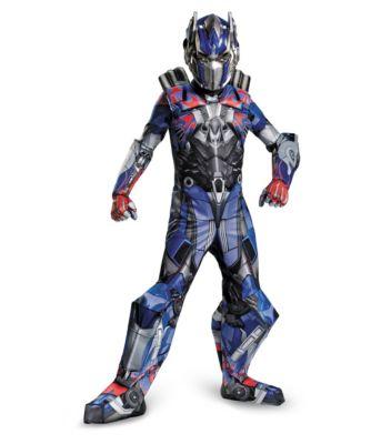 3-d transformer optimus prime costume