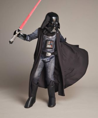 ultimate light-up darth vader boys costume