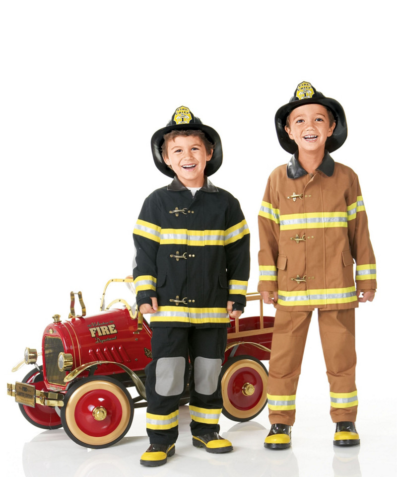 Personalized Kids Firefighter Costume