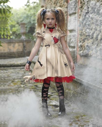 Voodoo Girl Halloween Costume Voodoo Doll Girls Costume