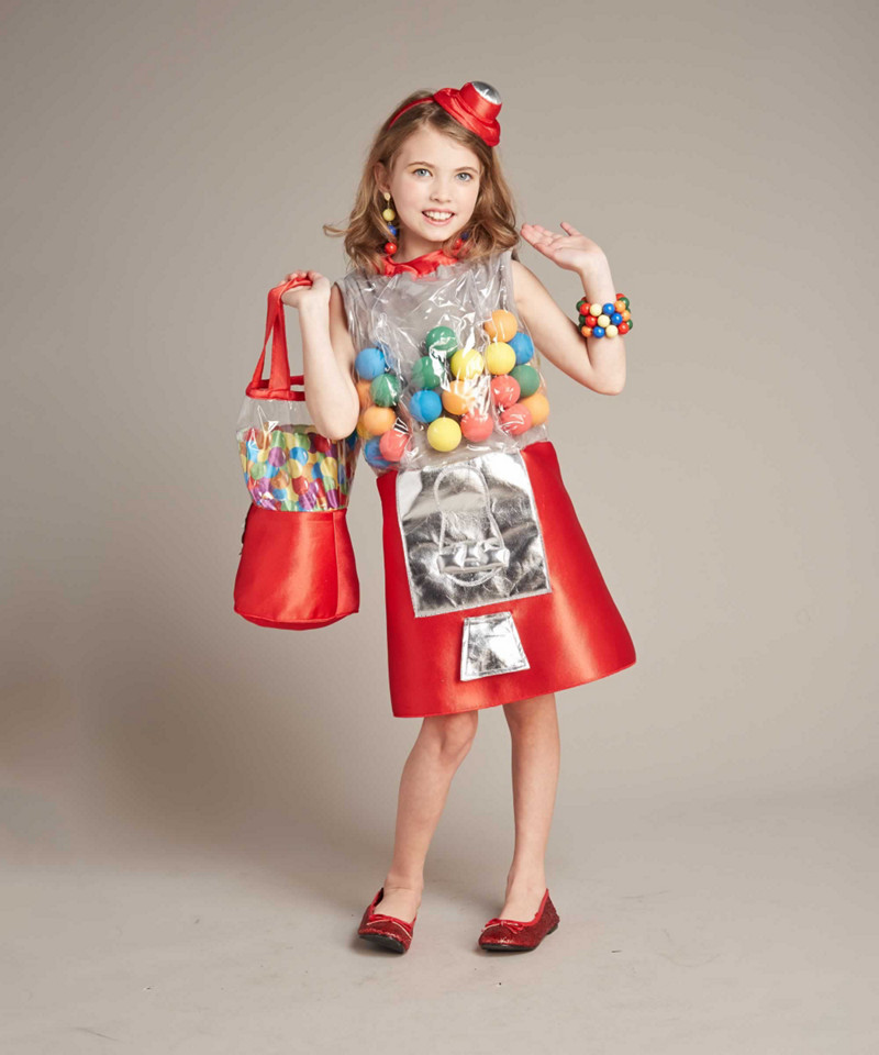 gumball machine costume for girls red 14 16 chasing fireflies. Black Bedroom Furniture Sets. Home Design Ideas