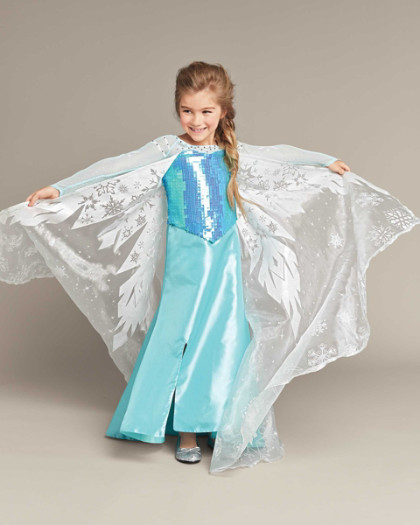 Home the ultimate collection elsa girls costume